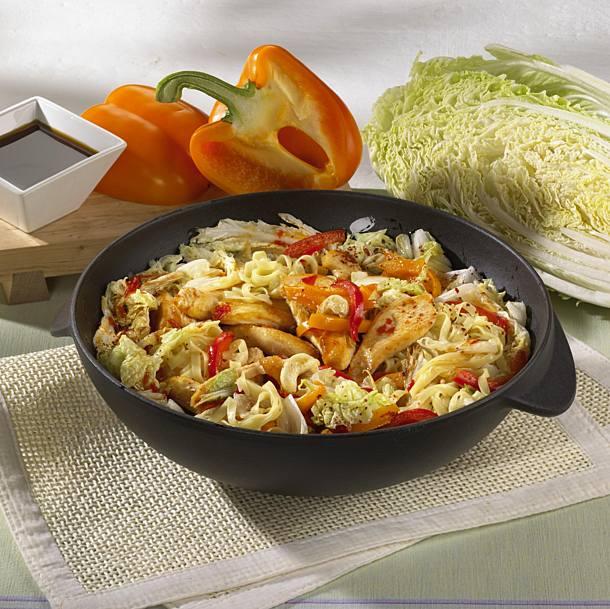 Asian cabbage pan