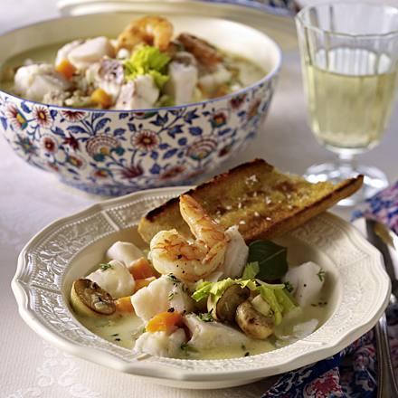 Blanquette de la mer (French fish ragout)