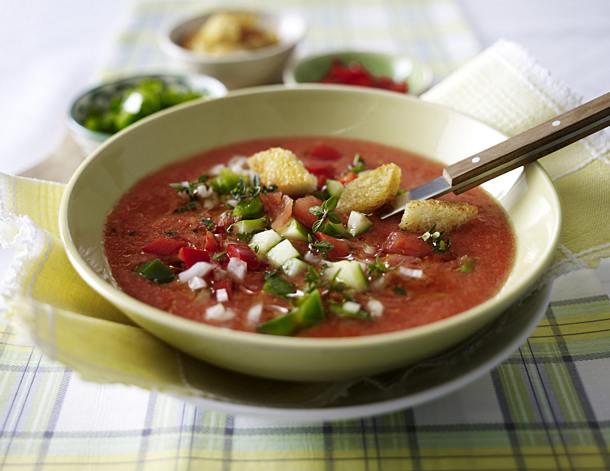 Gazpacho - cold tomato soup