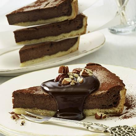 Chocolate Cheese Tart
